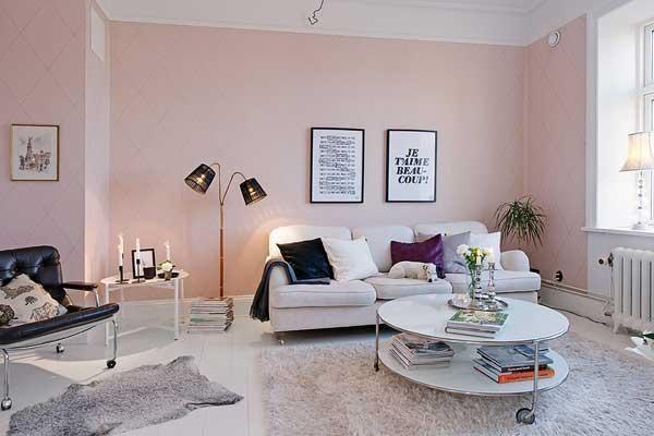 ピンク壁紙